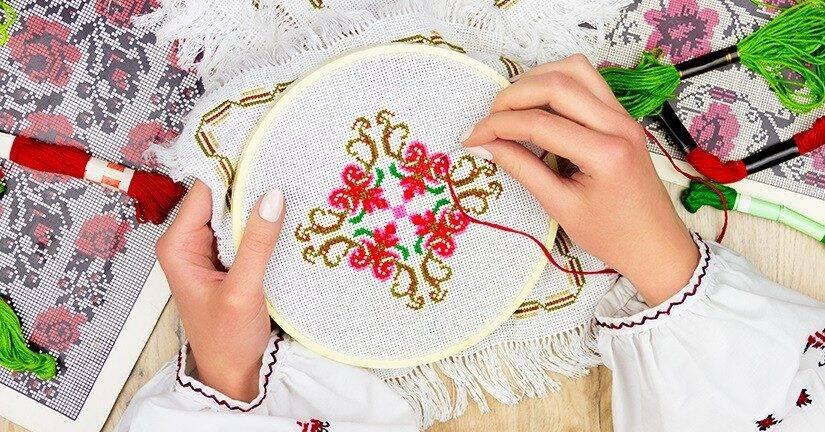 Вышивание — развивающее хобби для вашего ребенка